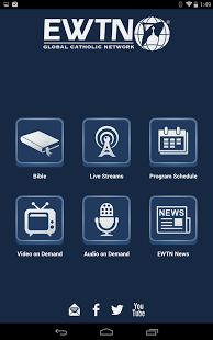 EWTN's TV and Radio: Live and On Demand Android Apps, Google Play, Catholic, Tv, Tvs, Television Set, Television, Roman Catholic