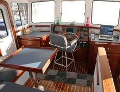 Great Harbor's GH 37 is the most spacious live-aboard vessel in it's class Spirit Yachts, Wooden Boats, Live, Wood Boats