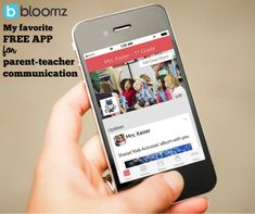 Why I LOVE @BloomzApp for building relationships with and between students' parents