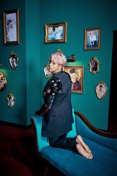 Jin para o Full Álbum 'WINGS' - BTS ❤