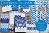 Great Find: Chevron Stationery from Delphine on http://blog.amyatlas.com