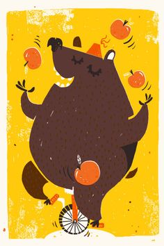 Bear On a Unicycle
