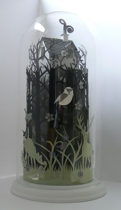exquisite paper cutting...would love to try something like this