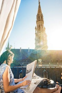 Room With a View : Hotel Amigo, Brussels #cntraveler #Brussels #hotels