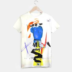 Le T-shirt plein imprimé d'une taille unisexe est fait de matériaux de meilleure qualité. Le meilleur cadeau et le parfait outfit. Le t-shirt pas comme les autres au design signé Sandrine Pagnoux