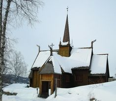 Garmo Stave Church - Norway. Norway Landscape, Viking Designs, Old Norse, Place Of Worship, Kirchen, Places To See, Vikings, The Good Place, Cathedral