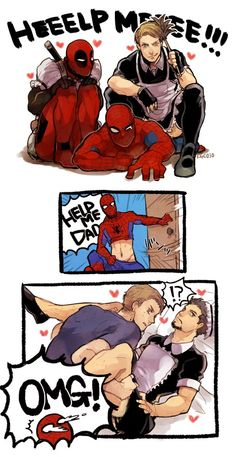 Spideypool & Superfamily