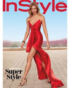 Karlie Kloss for InStyle Magazine June 2017 #Karlie_Kloss #Woman #Beauty