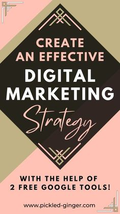See how these two Google tools can help you create an effective digital marketing strategy for your business, especially if you're looking to drive traffic from Google Search to your business website. | Maddy Osman, aka The Blogsmith, shares lessons learned about freelancing, WordPress plugins for bloggers, SEO writing and top digital marketing ideas. You can find her latest knowledge drop to help you grow to a six-figure business at www.the- blogsmith.com/blog