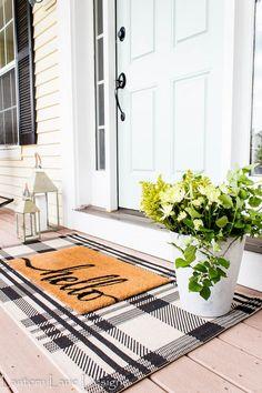 Front Porch Decor Ideas #diyhomedecor #diy #homedecor