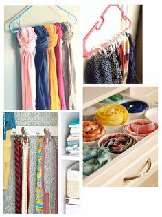 como-organizar-guarda-roupa-lenços