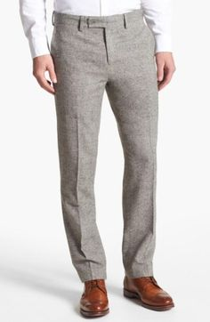 Finally! The Perfect Pair of Grey Flannel Trousers
