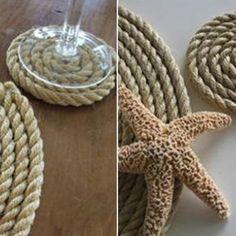 Nautical Coaster DIY {Costers}