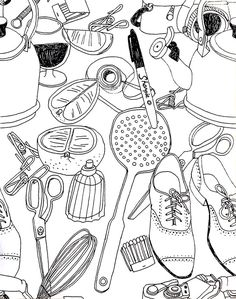 5 Steps to Illustrating a Repeat Pattern by Hand - Skillshare
