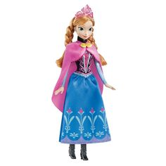 "Disney Frozen Sparkle Anna of Arendelle Doll - Mattel - Toys ""R"" Us"