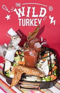 If you're cooking, make sure you have a Wild Turkey Bloody Mary close at hand first thing in the morning. | 15 Fancy Ways To Get Shamelessly Drunk On Thanksgiving