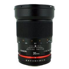 Rokinon 35mm Wide Angle Lens