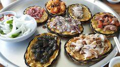 Fresh seafood at Busan korea
