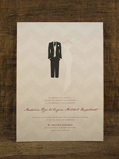 Suit Up Wedding Invite!