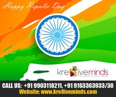 Kre8iveminds Technologies Pvt. Ltd. wishes all a Happy and Prosperous Republic Day! Jai Hind!! http://www.kre8iveminds.com/