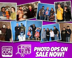 *PIN to WIN* #SLCC16 Photo Op Sessions with our Celebrity Guests are now available to purchase! Click to buy and more info. #utah