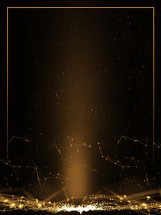 creative black gold high end annual light effect background