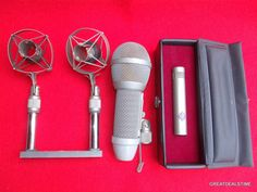 Neumann KM 84 I Condenser Microphone,With Capsule Housing Grill Stand KM84i MIV #Neumann Grill Stand, Man Cave Signs, Grilling, Crickets