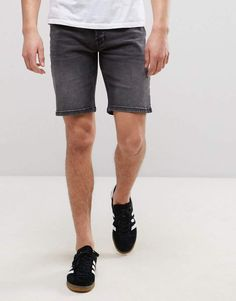 Only & Sons Slim Fit Denim Shorts