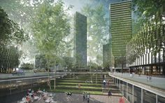 Image result for sunken plaza