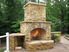 Newest Pics outdoor Fireplace Design Popular Regardless of w.- Newest Pics outdoor Fireplace Design Popular Regardless of whether you live around Aspen or maybe Florida, there is not any question this comforting effect with a co - Outdoor Fireplace Plans, Outdoor Stone Fireplaces, Outside Fireplace, Outdoor Fireplace Designs, Backyard Fireplace, Wood Fireplace, Backyard Patio, Fireplace Ideas, Stone Masonry
