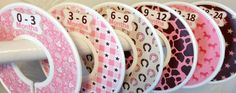 6 Baby Closet Dividers in Western Cowgirl CD572 Nursery Gift Clothes Organizers in Baby, Nursery Décor, Other Nursery Décor | eBay