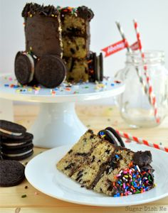 Birthday Cake Oreo White Chocolate Cheesecake Birthday Cake Oreos