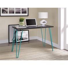 Simplicity and functionality come together in the Altra Owen Retro Desk. The slender silhouette allows the Owen Desk to easily fit in small spaces. Altra Owen Retro Desk requires minimal assembly upon delivery.