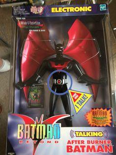 Batman Beyond After burner light and sound 12 inch action figure