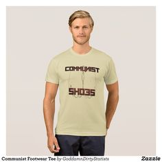 Communist Footwear Tee - Classic Relaxed T-Shirts By Talented Fashion & Graphic Designers - #shirts #tshirts #mensfashion #apparel #shopping #bargain #sale #outfit #stylish #cool #graphicdesign #trendy #fashion #design #fashiondesign #designer #fashiondesigner #style