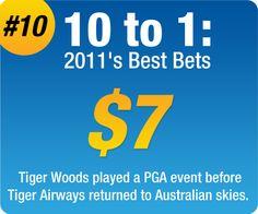 2011 Best Bets - #10 - Sportsbet.com.au