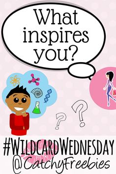 What inspires you? Tell us and you could win a sample of your choice from our stash! #WildcardWednesday