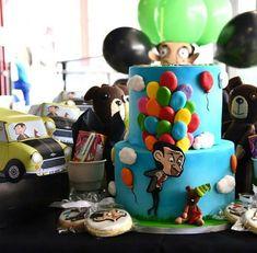 Mr Bean Birthday, Birthday Cake, Mr Bin, Baby Love, Pastel, Candy, 3d, Short Hair, Party