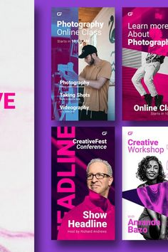 Dynamic Fresh Gradient Combination for your creative event content more standout. this template pack suitable for various event sets, exhibitions, conferences, Identity Card Design, Creative Workshop, Exhibitions, Keynote, Videography, Instagram Story, Conference, The Help, Infographic
