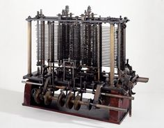 The Charles Babbage-designed Analytical Engine at the Science Museum.