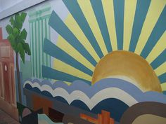 Art Deco Sun by SeanTeulan, via Flickr