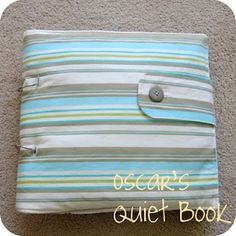 homemade by jill: the finished quiet book with patterns