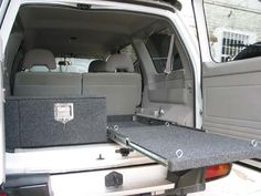 Car Consoles & 4WD Storage Drawers - Department of the Interior - overhead consoles, roof consoles, custom built consoles, 4WD interiors, st...