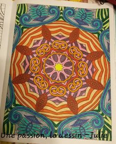 "De mon livre ""Inspiration zen 50 mandalas antistress"". :)"