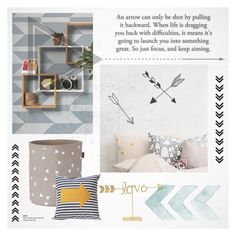 """""""Focus and keep aiming..."""" by gloriettequartet ❤ liked on Polyvore featuring interior, interiors, interior design, Casa, home decor, interior decorating, Chasing Paper e ferm LIVING"""