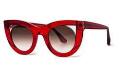 - Description - Size Guide - Shipping & Returns The Thierry Lasry Wavvvy features a bold cat-eye shape with contrasting detailing on the frame front that is made of Italian Mazzucchelli acetate. All Thierry Lasry sunglasses are handmade in France and comes with a 1-year manufacturer warranty. We offer free shipping to anywhere in the United States and charge $40 to ship anywhere else around the world. For more info on our Shipping Rates. We offer a 20-day no (0%) restocking fee return policy…