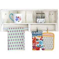 Doug & Cristy Designs White Combo Towel Shelf ($45) ❤ liked on Polyvore featuring home, bed & bath, bath, bath accessories, white bathroom accessories, white bath accessories and white towel rack