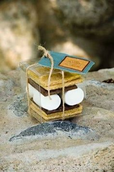 Perfect as a favor for a corporate outing, meeting, wedding reception, rehearsal dinner, shower...anything, really! smores kit ! We'd take this task on any day. Just holler! www.made-from-scratch.com #columbusevents #columbuscatering