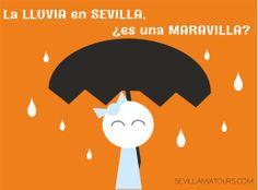 La lluvia en Sevilla, ¿es una maravilla?