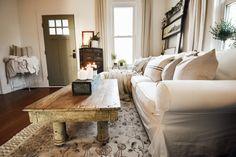 IKEA EKTORP Sofa Review Ektorp Sectional, Ikea Sofa, Furniture Slipcovers, Living Room White, White Sofas, Farmhouse Homes, Sofa Covers, Journal, Home Decor